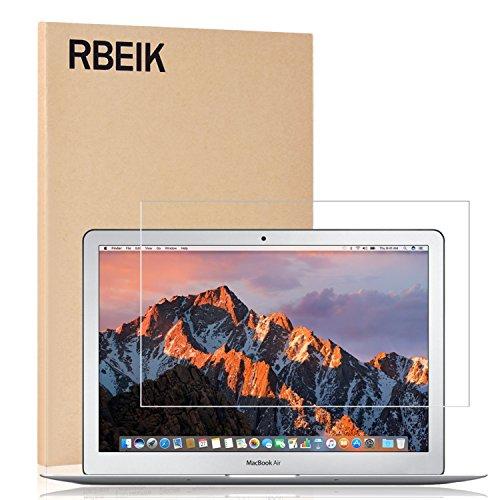 rbeik Macbook Air 13Protector de pantalla templado cristal, Premium 9H vidrio templado Protector de pantalla para el nuevo MacBook Air de 13,3pulgadas (2015/2017Release)
