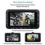 Voberry Dash Cam, Motorrad HD 720p DVR Fahrzeug Kamera Video Recorder Dash Cam Nachtsicht