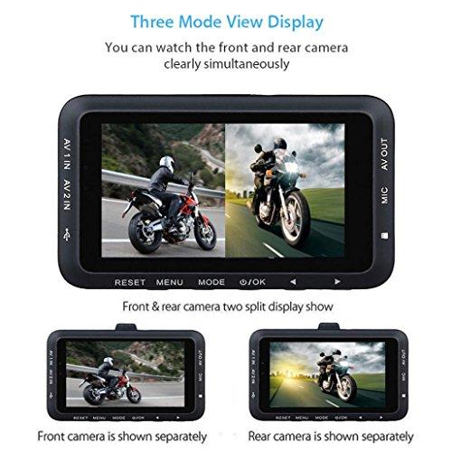 torrad HD 720p DVR Fahrzeug Kamera Video Recorder Dash Cam Nachtsicht (Motorrad-nachtsicht)