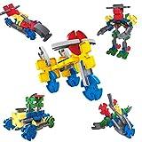 Giocattoli DIY Constructor per Costruire Modelli di Veicoli Gioco Assemblea Gioco Regalo per i Bambini, 50 Pezzo - Touch - amazon.it