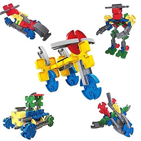 Jeu De Construction jouets éducatifs 3 ans blocs en plastique
