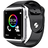 Smart Watch, E LV High Quality Touch Screen Bluetooth Smart Wrist Watch with Camera For Apple iPhone IOS, Android Smartphones Samsung,HTC,Blackberry and more – BLACK