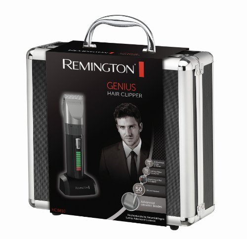 Remington HC5810 Pro Advanced Ceramic   Cortapelos  indicador LED  40 minutos de autonomía  incluye 10 peines