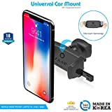 #4: ZAAP Easy Vent 3rd Generation Premium Car Mount for Android/iOS Devices (Black)