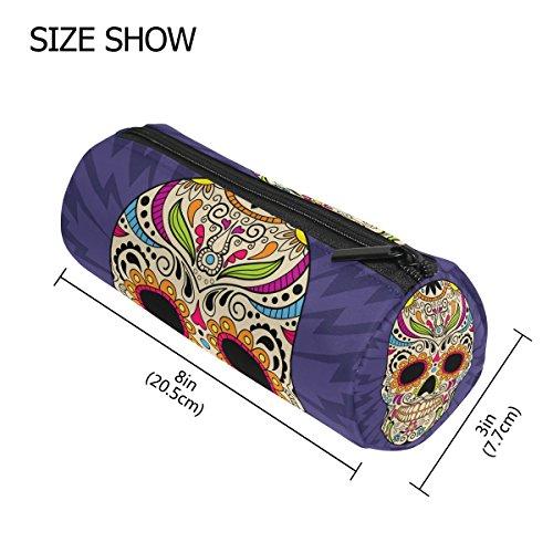 TIZORAX Color mejicano calavera lápiz bolígrafo