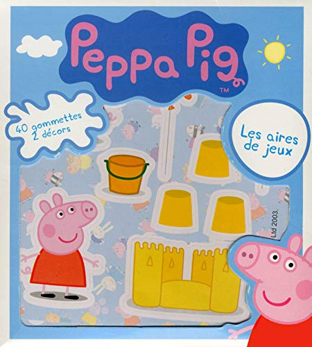 Peppa Pig in French - Les aires de jeux (French Edition)