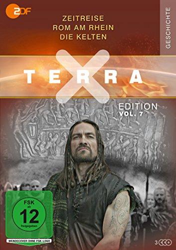 Terra X - Edition, Vol. 7: Zeitreise - Rom am Rhein - Die Kelten (3 DVDs)