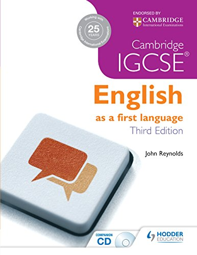 Cambridge IGCSE English First Language 3ed + CD