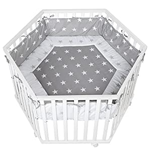 roba-kids cosiplay - Park Hexagonal Polini Kids Perfect solution for storing babies belongings Small ergonomic handles Comes in variety of colours 4