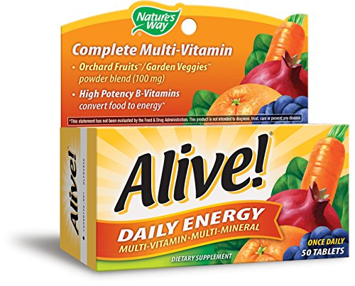 Nature's Way, Alive!, Daily Energy, 60 Tabletten (Way Natures 60 Tabletten)