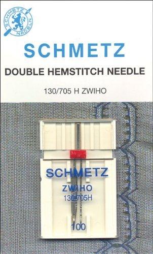 Euro-Notions Doble con vainica Lavadora Needle-Size 16/1001/Pkg