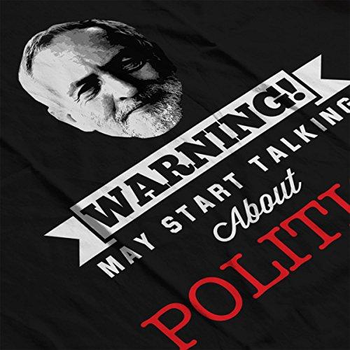 Jeremy Corbyn Warning May Start Talking About Politics Men's Vest Black