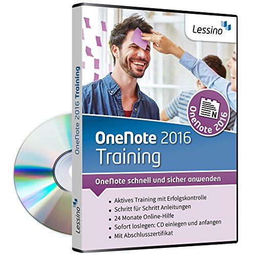 OneNote 2016 Training | Schritt für Schritt OneNote lernen | Perfekt für Studenten, Lehrer, Privat und Beruf [1 Nutzer-Lizenz] (Mac Microsoft Für Onenote)