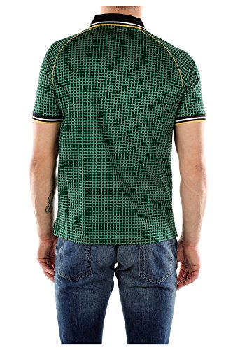 UJN213VERDE Prada Polo Uomo Cotone Verde Verde