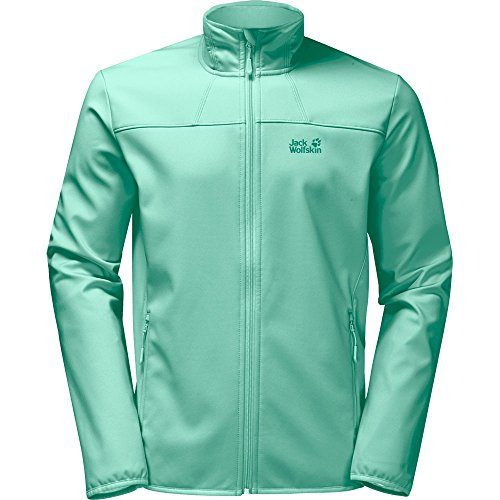 Jack Wolfskin Damen Northern Pass Softshelljacke, Pale Mint, XL Preisvergleich