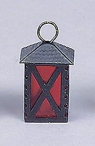 Kahlert 20.605 luz - Muñeca Mini Accesorios - Linterna de Metal, Altura 30 mm