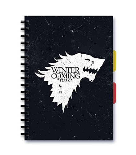 Posterskart Game of Thrones 'Winter is Coming' Notebook A5 Ruled 51 2Bh4xySBgL