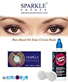 New Sparkle Pure Hazel Color Monthly Con...