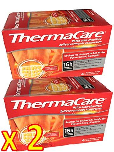 ThermaCare Rücken S-XL im 2 x Viererpack - 8 Wärmeumschläge -