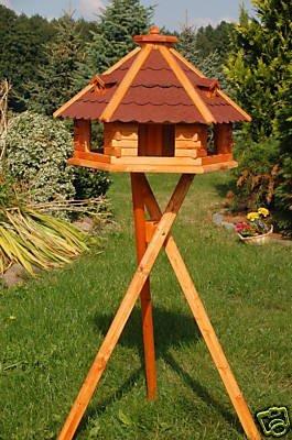Wunderschönes XXL Vogelhaus mit Ständer, behandelt