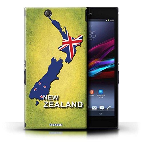 Kobalt® Imprimé Etui / Coque pour Sony Xperia Z Ultra / Lituanie/Lituanien conception / Série Drapeau Pays nouvelle Zélande
