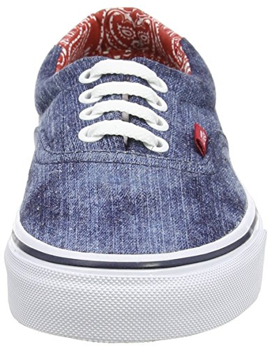 Unisex Sneaker von Vans – Era 59 CA Blue (Acid Denim - Blue/Bandana)
