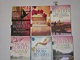 6 x Nora Roberts ** Im Licht des Vergessens, Verschlungene Wege, Das Haus der Donna, Winter Wedding Dreams, Sommerflammen, Die falsche Tochter **