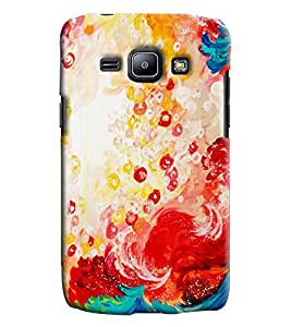 Blue Throat Colored Effect Printed Designer Back Cover/ Case For Samsung Galaxy J1