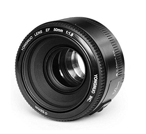 YONGNUO YN50 50mm F1.8 Lens Lens Grande Auto Aperture fuoco per Canon EOS DSLR con WINGONEER diffusore