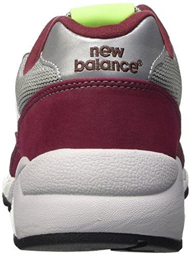 New Balance Nbmrt580kj, Scarpe da Atletica Uomo Rosso (Burgundy)