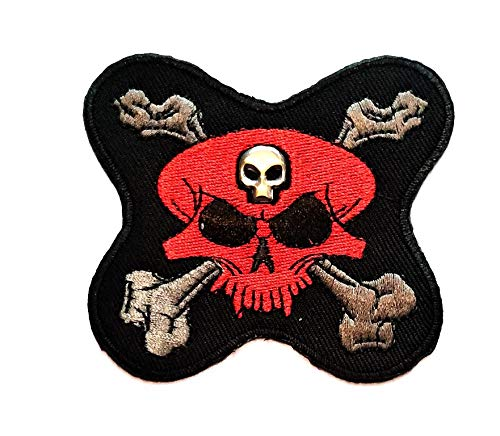 Tap Tap Skull Day of The Dead Patches Aufnäher/Aufbügler/Aufbügler/Aufbügler/Biker/Biker/Biker/Biker/Tattoo/Jacke/T-Shirt/Aufnäher/Aufbügler - Ghost Rider Jacke