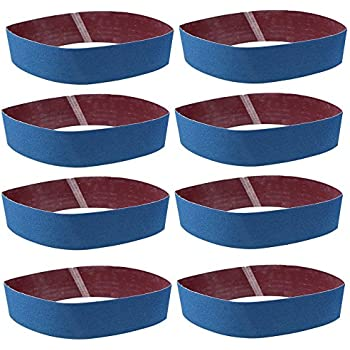 Aluminium Bandes abrasives 4/pcs/ /bleu Goodchanceuk ponceuse de pon/çage 100/x 915/mm Oxyde daluminium abrasif ceintures pour le m/étal Rouille polissage polissage Bleu