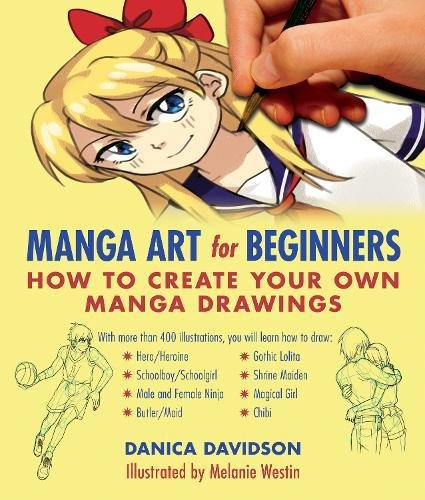 Manga Art For Beginners How To Create Your Own Drawings