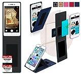 reboon Oppo Neo 7 Hülle Tasche Cover Case Bumper | Blau | Testsieger