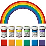 Wilton Gelfarben im Spar-Set (6 x 28 g - Regenbogenmix)