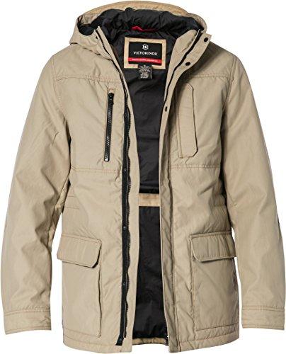 Preisvergleich Produktbild VICTORINOX Herren Jacke Jack modisches Langarmoberteil Uni & Uninah, Größe: M, Farbe: Beige