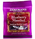 Jakemans Blueberry Bags 100g (Pack of 10)