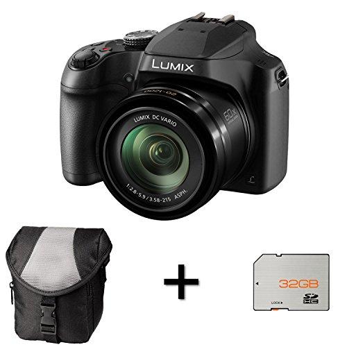 Affordable Panasonic Lumix DC-FZ82 Digital Camera – Black + Case and 32GB Memory Card (18.1MP, 60x Optical Zoom) 3.0 inc LCD on Line