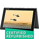 (Renewed) Lenovo Yoga Book Tablet (10.1 inch, 64GB, Wi-Fi + 4G LTE + Voice Calling), Grey