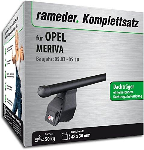 Rameder Komplettsatz, Dachträger Tema für Opel MERIVA (118852-04926-2)
