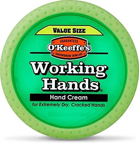 OKeeffes Working Hands Crema per mani confezione formato convenienza barattolo da 193 g