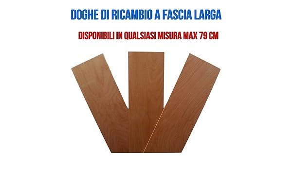 DOGHE DI RICAMBIO FASCIA LARGA 790 x 170 mm: Amazon.it: Casa e cucina