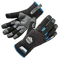 Ergodyne Proflex 817WP Thermal Waterproof Winter Work Gloves w/Reinforced Palms L Black, Large