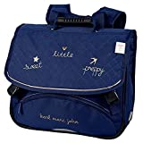Cartable KARL MARC JOHN Little 38cm 2 compartiments Bleu