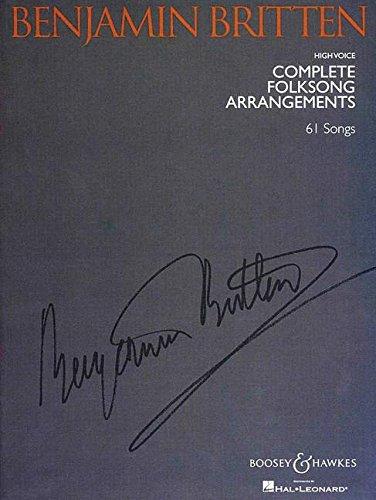 Benjamin Britten - Complete Folksong Arr...