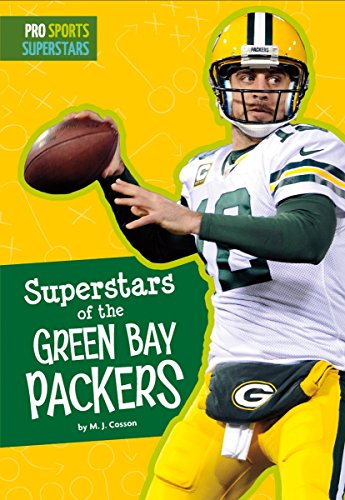 Superstars of the Green Bay Packers (Pro Sports Superstars) (English Edition) por MJ Cosson