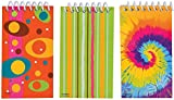 Mini Spiral Notepads Party Bag Fillers, Pack of 6