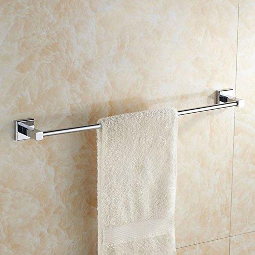 Preisvergleich Produktbild Yomiokla Bad-Zubehör - Küche,  WC,  Balkon und Bad Metall Handtuchring Messing Einhebelsteuerung Verlängerung ohne 55 cm Schlag