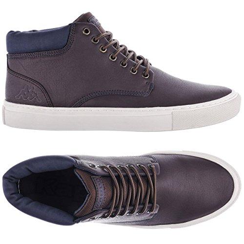 Kappa Coutem, Herren Hohe Sneakers Brown