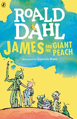 James and the giant peach por Roald Dahl